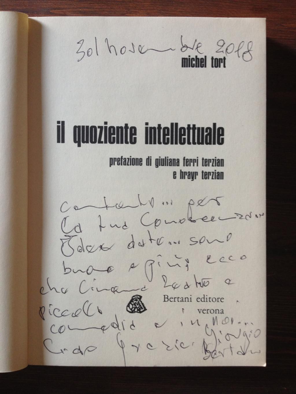 Tobia Poltronieri Giorgio Bertani – in memoria